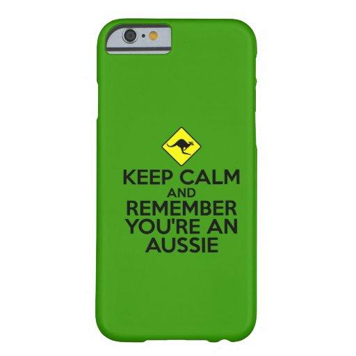 Down under iPhone 6 case