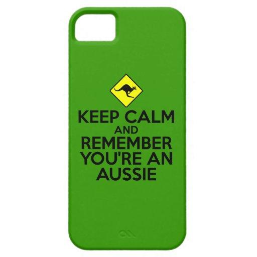 Down under iPhone 5 case