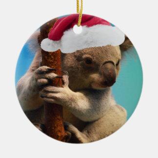 Down Under Christmas Koala Christmas Ornament
