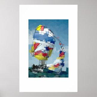 Down Wind Print