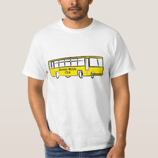 DOWN WITH CIS bus T-Shirt