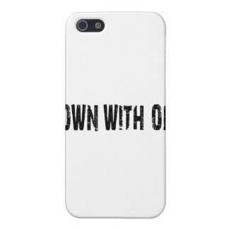 Down With Opp Case For iPhone 5/5S