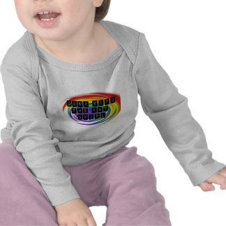 Down with the Gay Swirl GLBT Pride Tshirt