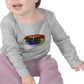 Down with the Gay Swirl GLBT Pride Tshirt