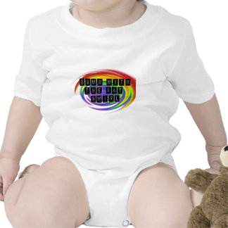 Down with the Gay Swirl GLBT Pride T-shirts