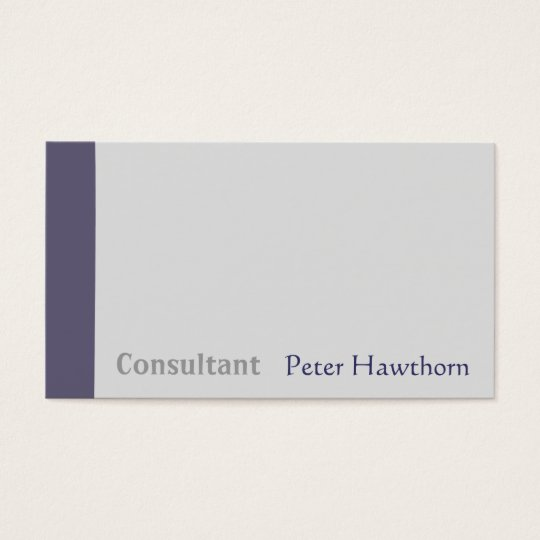 DownBellow Text Company Entrepreneur Professional Business Card