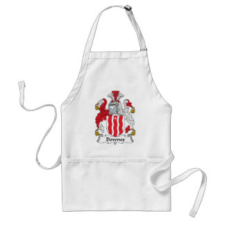 Downes Family Crest Standard Apron