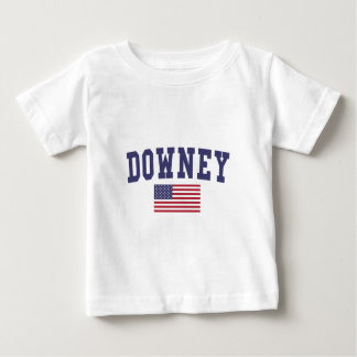 Downey US Flag Baby T-Shirt