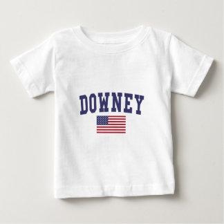 Downey US Flag T Shirt