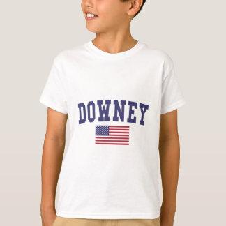 Downey US Flag T-shirts