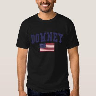 Downey US Flag Tshirts