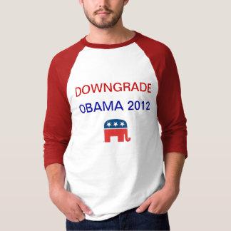 Downgrade Obama 2012 T-Shirt
