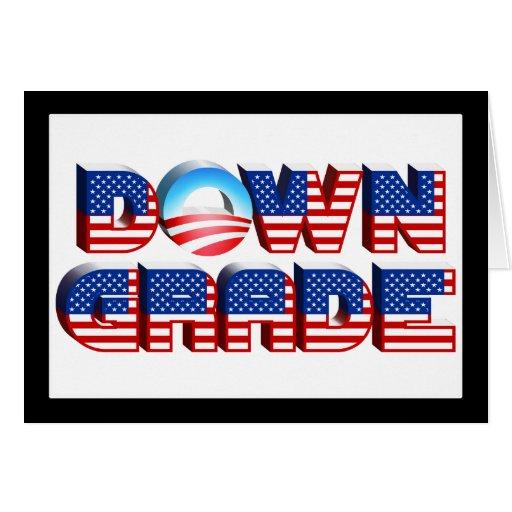 Downgrade Obama Card