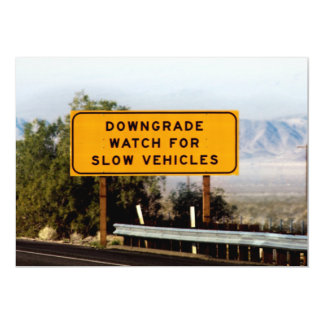 Downgrade Slow Vehicles Invite