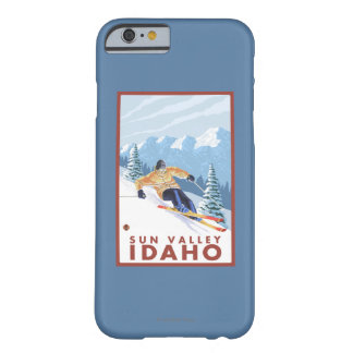 Downhhill Snow Skier - Sun Valley, Idaho Barely There iPhone 6 Case