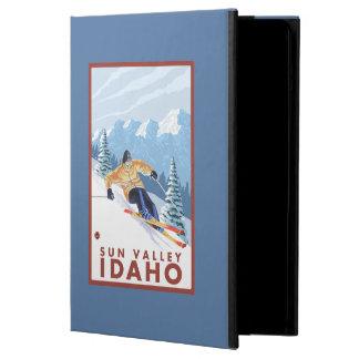 Downhhill Snow Skier - Sun Valley, Idaho iPad Air Cover