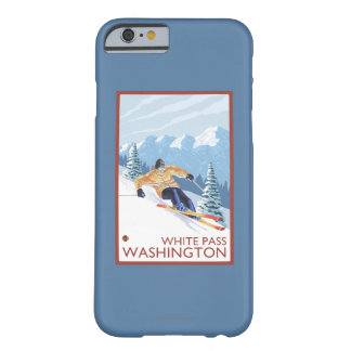 Downhhill Snow Skier - White Pass, Washington Barely There iPhone 6 Case