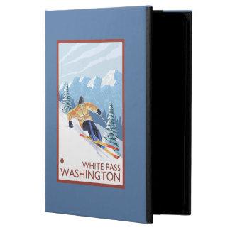 Downhhill Snow Skier - White Pass, Washington iPad Air Case