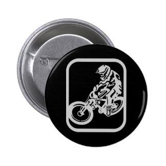 Downhill MTB 6 Cm Round Badge