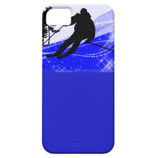 Downhill on the Ski Slope iPhone 5 Cover
