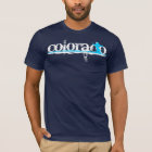 downhill ski stripes : colorado T-Shirt
