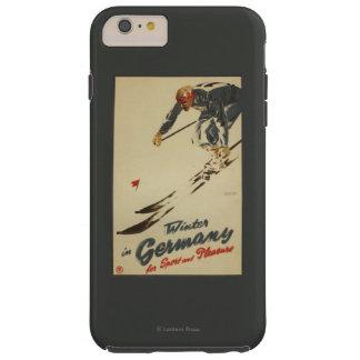 Downhill Skier - Sport and Pleasure Promo Tough iPhone 6 Plus Case