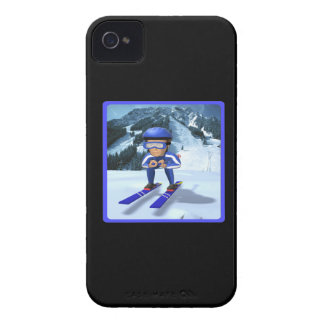Downhill Skiing 2 Case-Mate iPhone 4 Cases