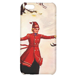 Downhill skiing iPhone 5C cover