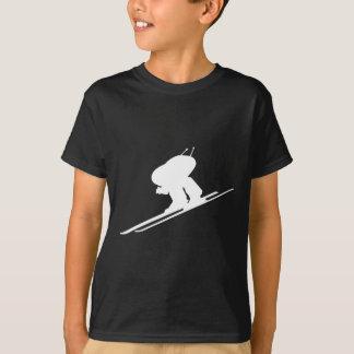 Downhill skiing t shirt