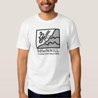 Downhill Thrill Mountain Biking Shirts