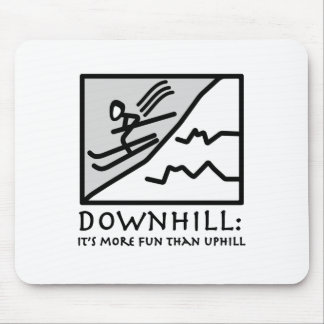 Downhill Thrill Mouse Pad