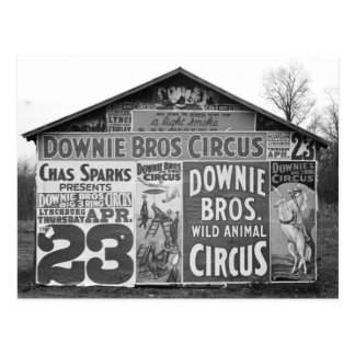 Downie Bros. Circus, 1936 Post Cards