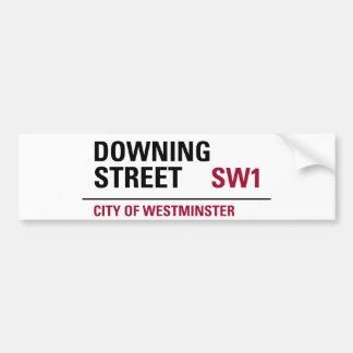 Downing Street Sign Bumper Sticker