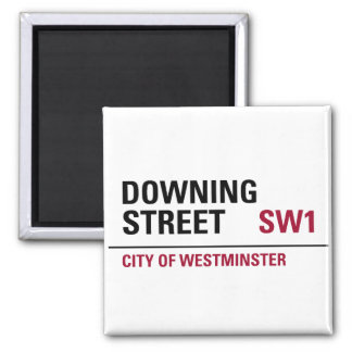 Downing Street Sign Refrigerator Magnets