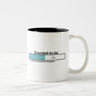 Downloading Grandad to Be Coffee Mugs