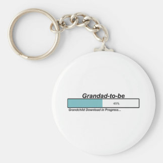 Downloading Grandad to Be Key Chains