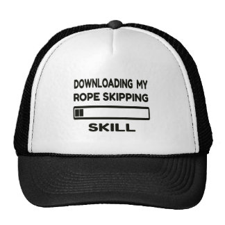 Downloading my Rope Skipping skill Cap