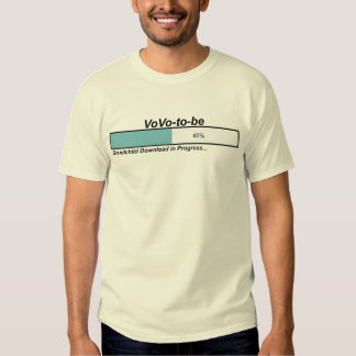 Downloading VoVo to Be T Shirt