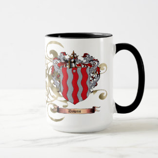 Downs Coat of Arms (2-sided) Mug