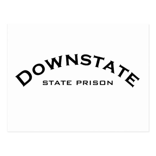 Downstate State Prison Logo Postcard