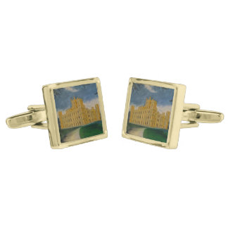 Downton Abbey Gold Finish Cuff Links