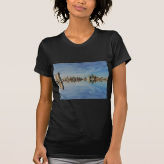 Downtown Baltimore Maryland Skyline Reflection T-shirts