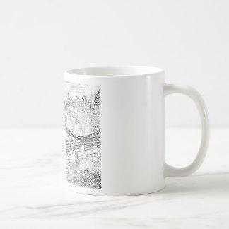 downtown basic white mug