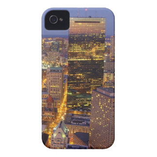 Downtown Boston and Hancock Tower iPhone 4 Covers