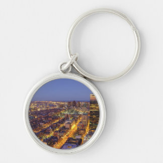 Downtown Boston and Hancock Tower Key Ring