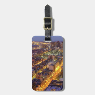 Downtown Boston and Hancock Tower Luggage Tag