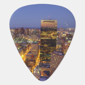 Downtown Boston and Hancock Tower Plectrum