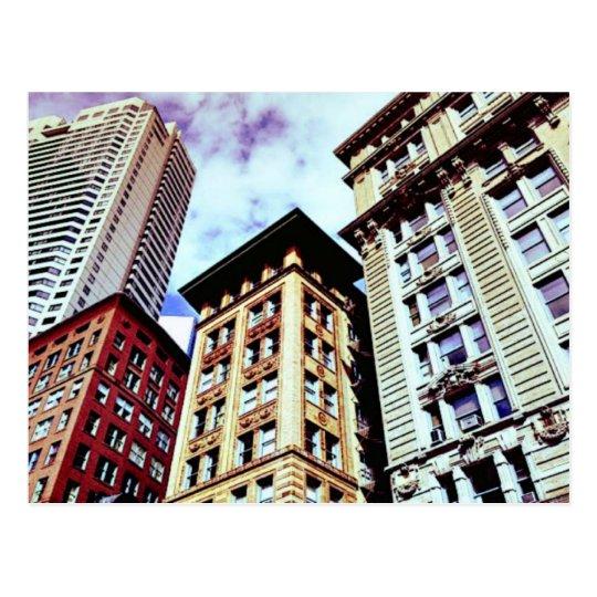 Downtown Boston Postcard