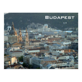 Downtown Budapest Postcard