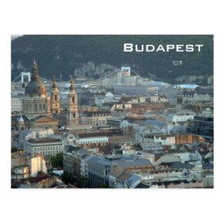 Downtown Budapest Postcard